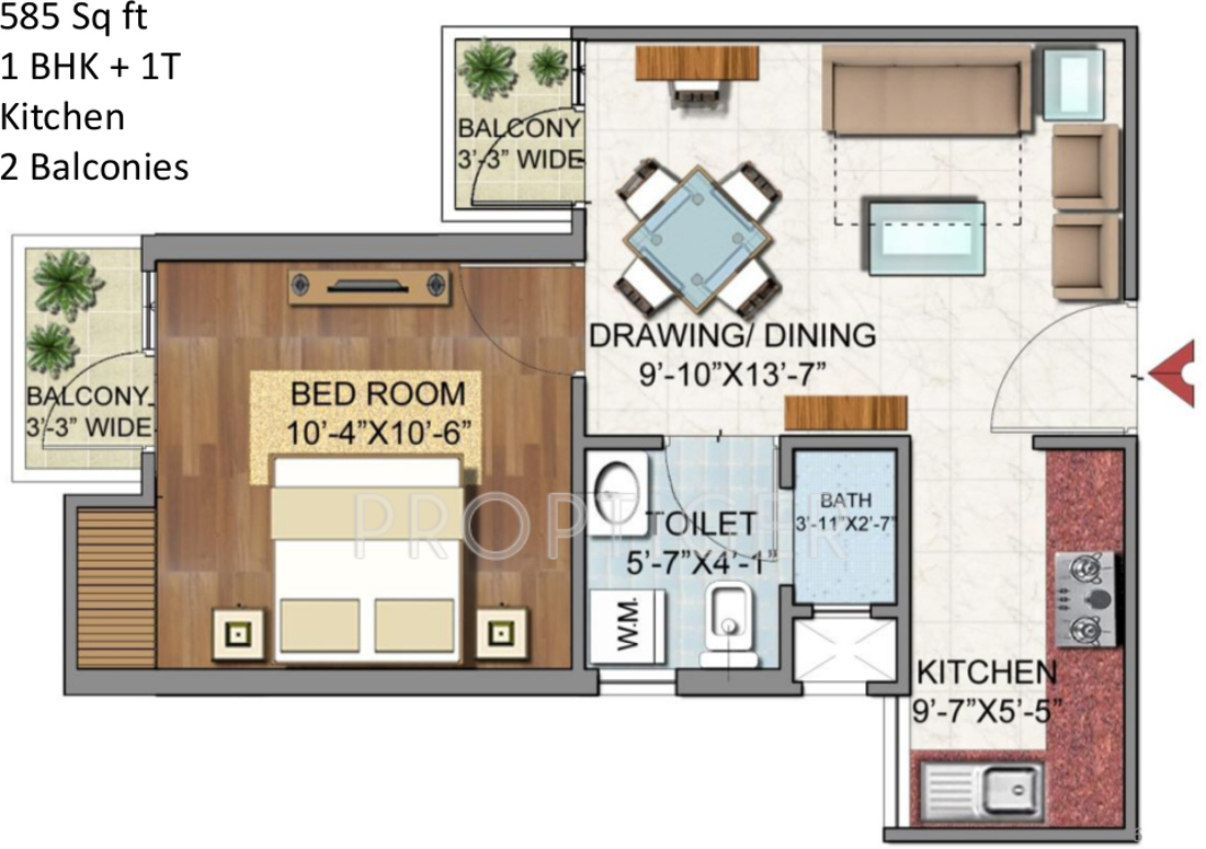 38 Best 3D Floor Plan images | Architectural floor plans ...