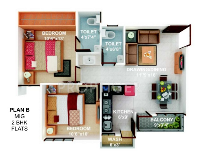 Soumya atlantis apartment in bagmugalia bhopal price for Atlantis homes floor plans