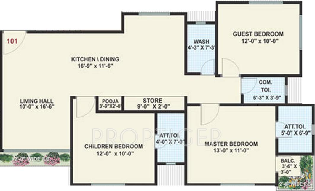 Raghuvir shrungar residency in vesu surat price for X2 residency floor plan