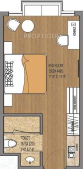 Earthcon Himalayan Estate (1BHK+1T (400 sq ft) 400 sq ft)