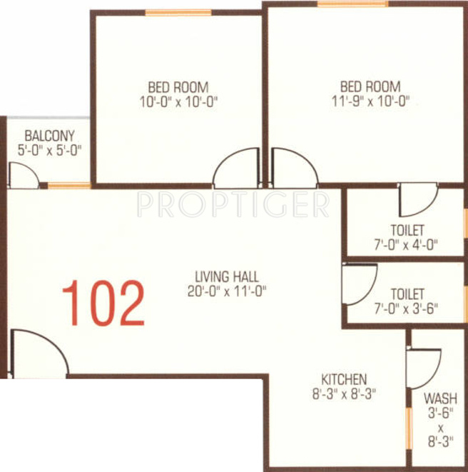 650 square foot house plan india for Home design 650 sq ft