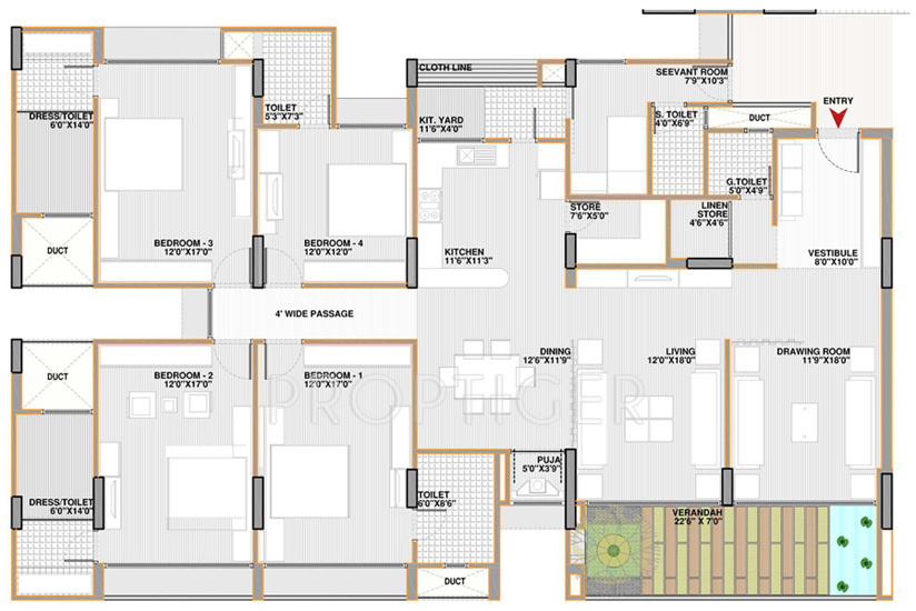 Charming Best 25 4 Bedroom Apartments Ideas On Pinterest 3d House Plans. Compare  Shri Gautam Real Estate Pvt Ltd Apollo DB City Vs Apollo Part 19