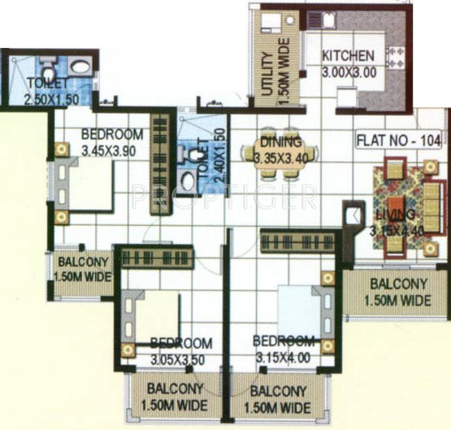 Kurtarkar landmark in margao goa price location map for Real estate floor plan pricing