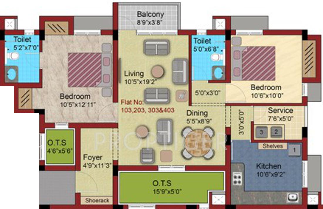 Varna Suvasini Apartments In East Tambaram Chennai
