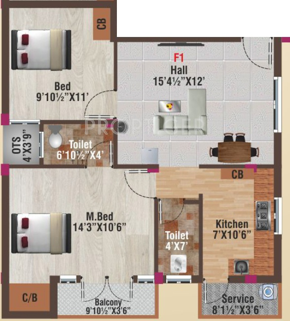 900 sq ft 2 bhk 2t apartment for sale in av constructions for 900 sq ft apartment floor plan