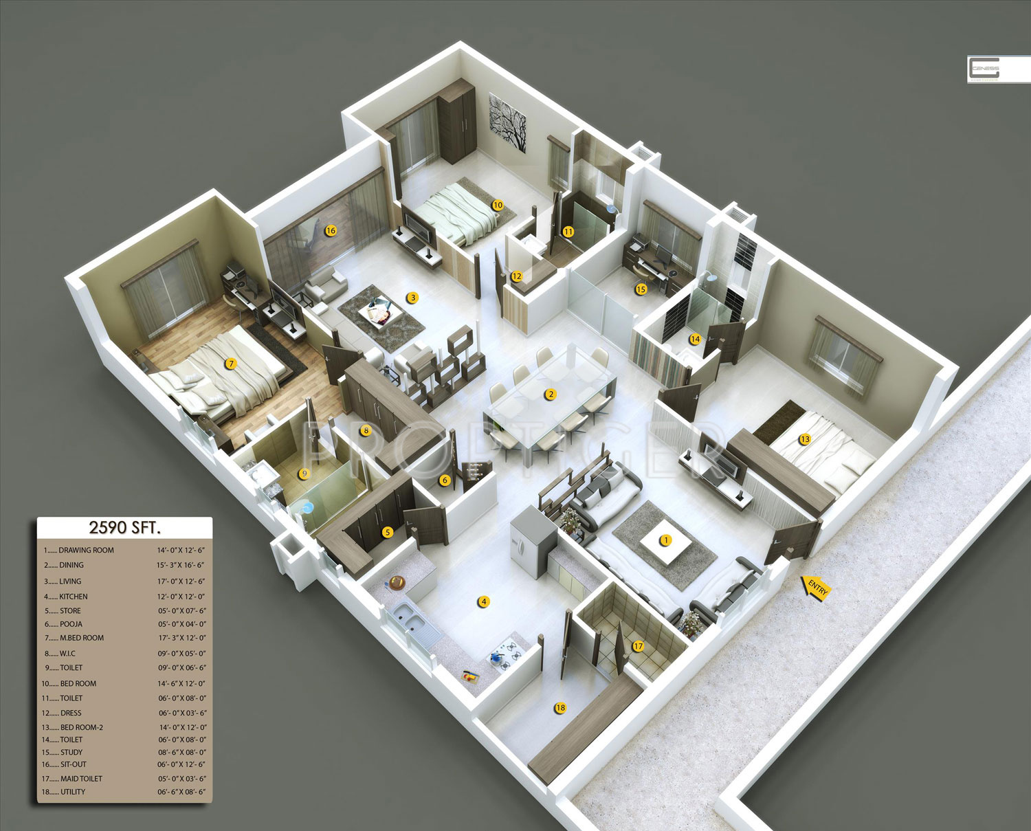 3 bhk plans for houses house design plans for Plan of 3bhk house