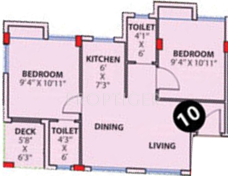 Purti Aqua in Rajarhat, Kolkata - Price, Location Map, Floor Plan ...