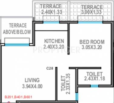 640 Sq Ft 1 Bhk 2t Apartment For Sale In Legacy Groups
