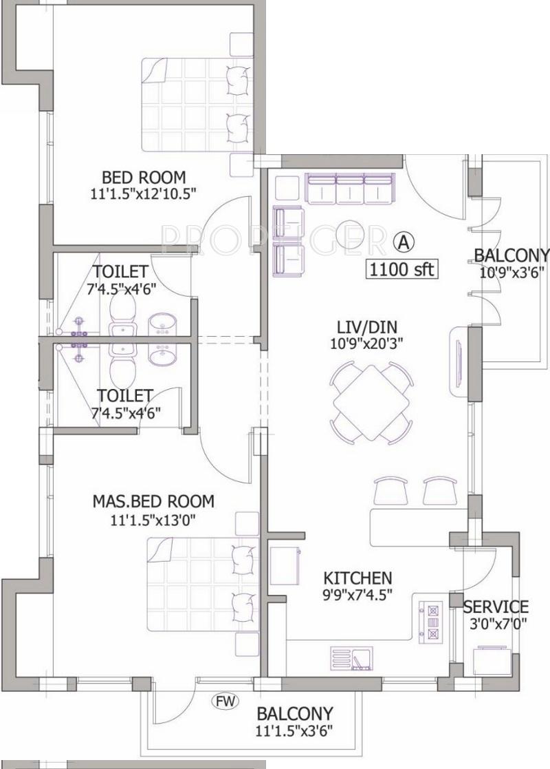 Pushkar sudha anand residency in anna nagar chennai for X2 residency floor plan