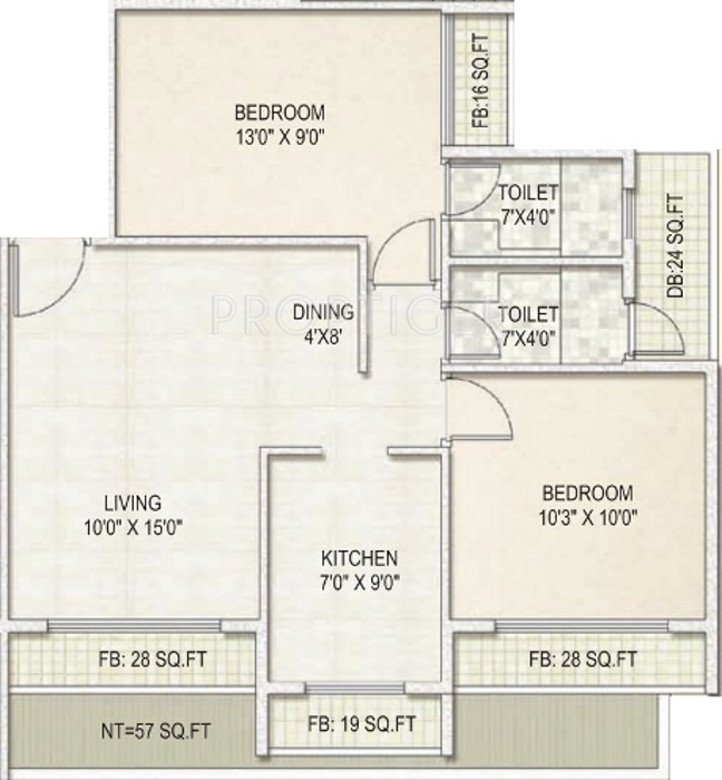 950 sq ft 2 bhk 2t apartment for sale in mega group atmos for 950 sq ft