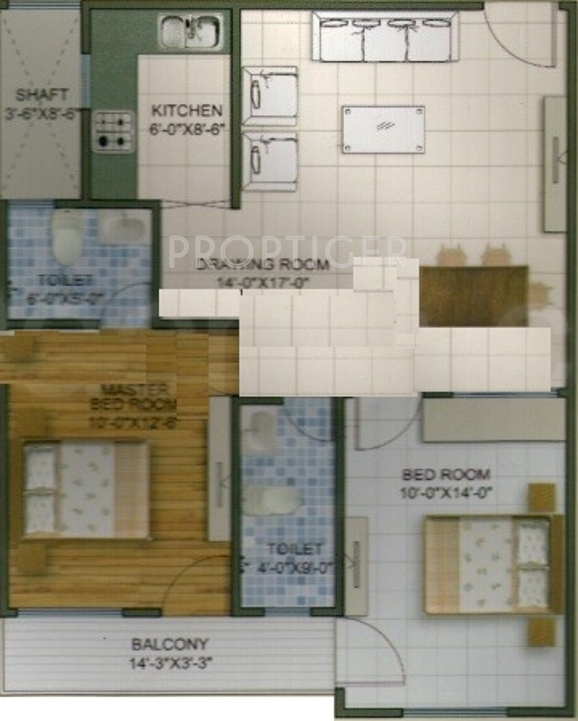 925 Sq Ft 2 Bhk 2t Apartment For Sale In Yam Construction