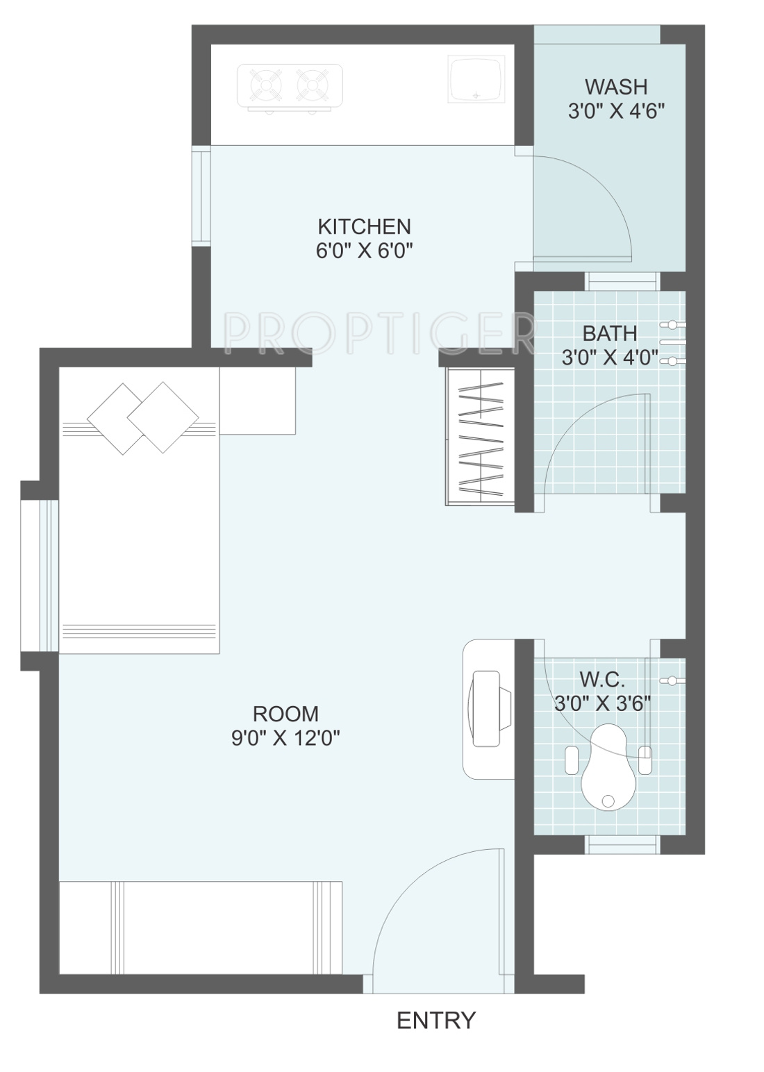 Small house plans 400 square feet for 400 sq ft house floor plan