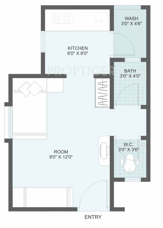400 Sq Ft 1 Bhk 1t Apartment For Sale In Dbs Affordable