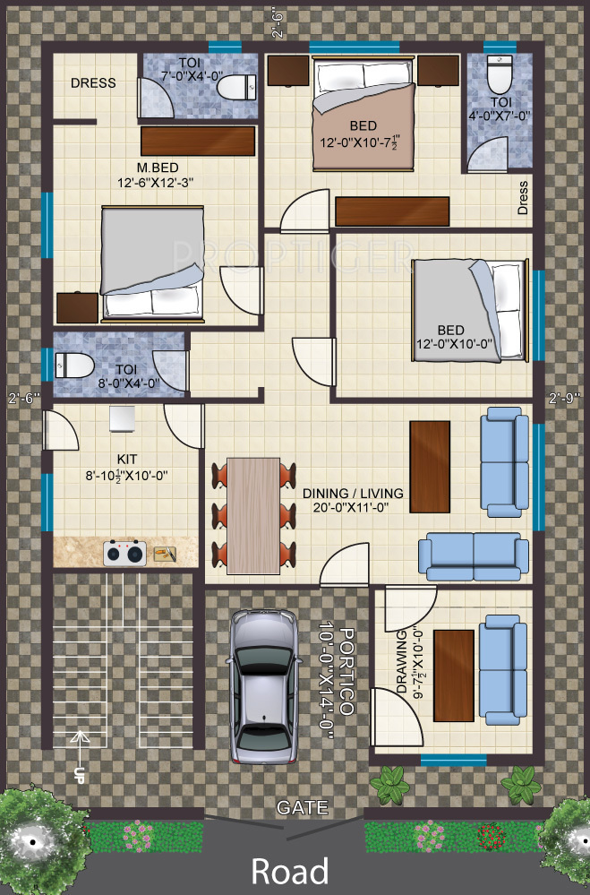 Dream monarch in shamshabad hyderabad price location for Monarch homes floor plans