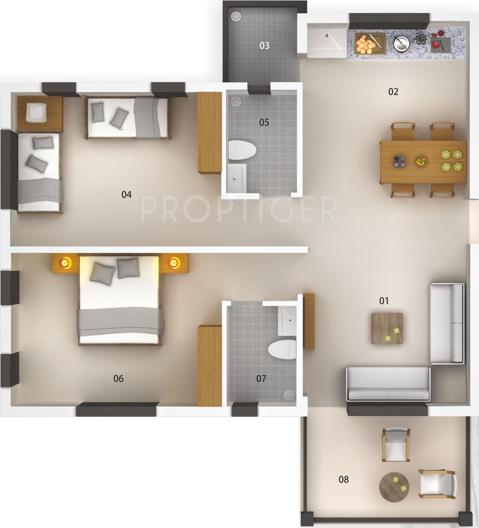 1555 sq ft 2 bhk 2t apartment for sale in savvy for 12th floor apartments odessa