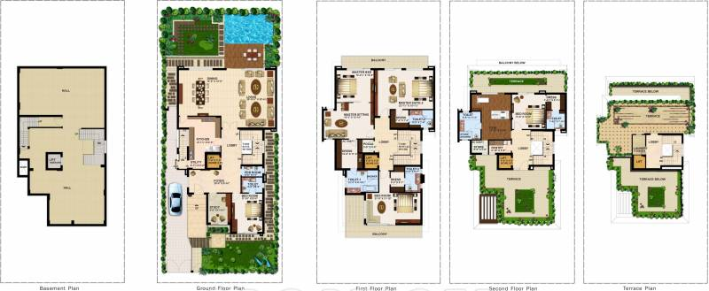 Anant Manor Villas (5BHK+5T (7,582 sq ft) + Study Room 7582 sq ft)