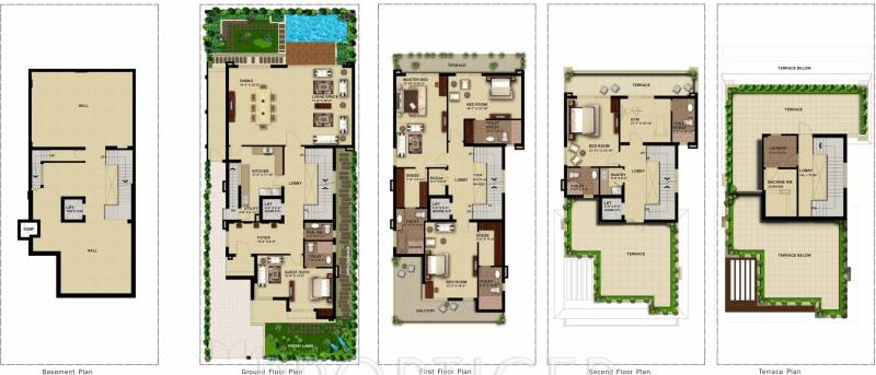 Anant Manor Villas (5BHK+5T (6,428 sq ft) 6428 sq ft)