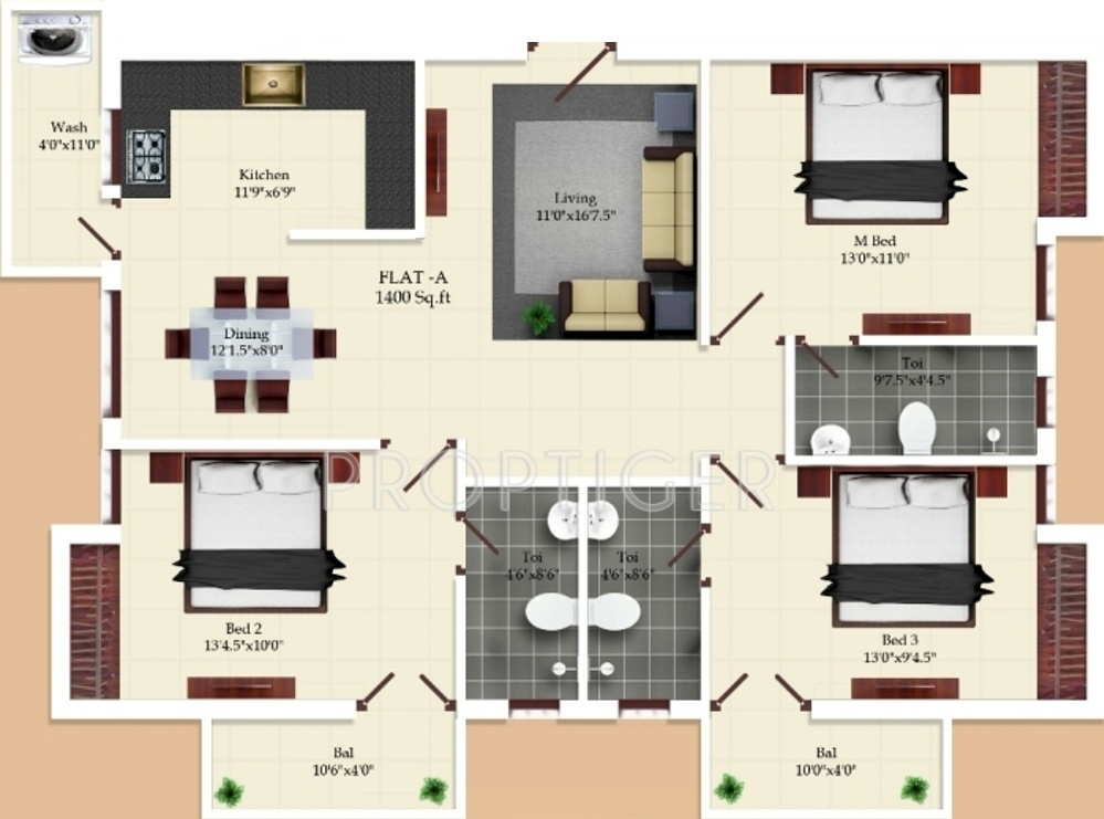 1800 sq ft house plans in india home design 2017 for Apartment plans 2 bedroom in india