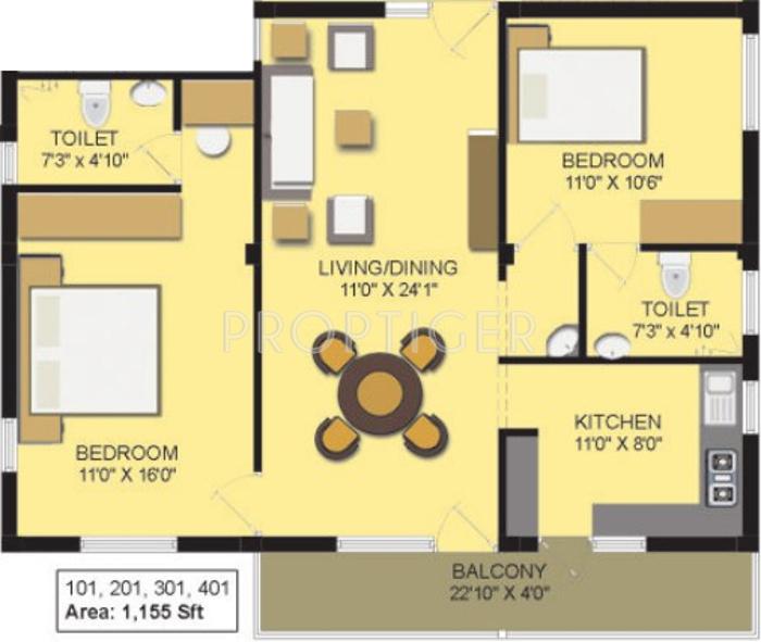 Lionshead Apartments: Springfield Rivera Apartments In Singanallur, Coimbatore