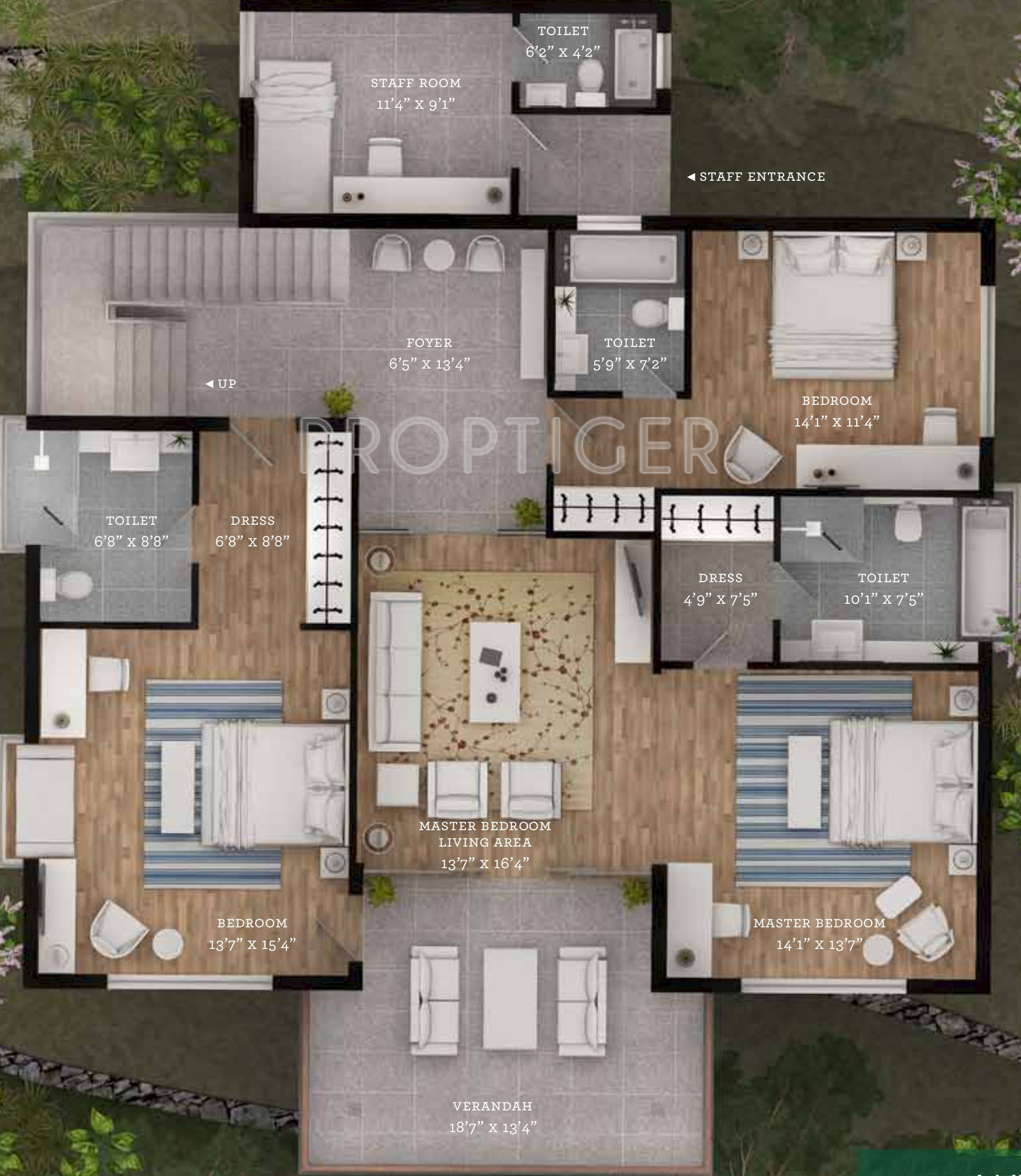 4000 Sq Ft 4 Bhk 5t Villa For Sale In Silverglades Hill