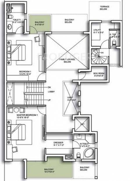 Experion The Westerlies (5BHK+6T (8,397 sq ft) + Servant Room 8397 sq ft)