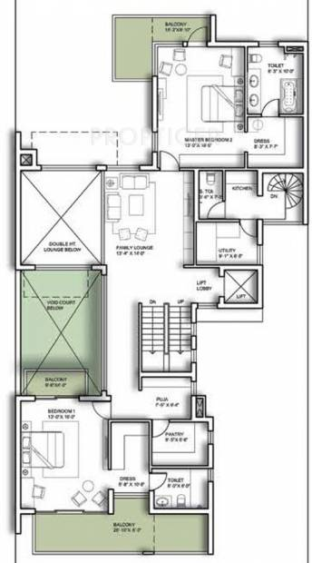 Experion The Westerlies (5BHK+7T (8,998 sq ft) + Servant Room 8998 sq ft)