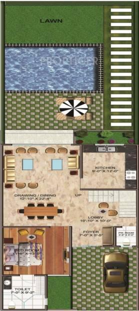 Urbainia Trikaya Golf Ville (4BHK+4T (2,730 sq ft)   Servant Room 2730 sq ft)