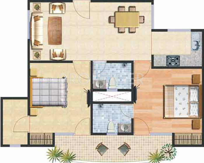 1100 sq ft 2 bhk 2t apartment for sale in ashray for 1100 sq ft apartment floor plan