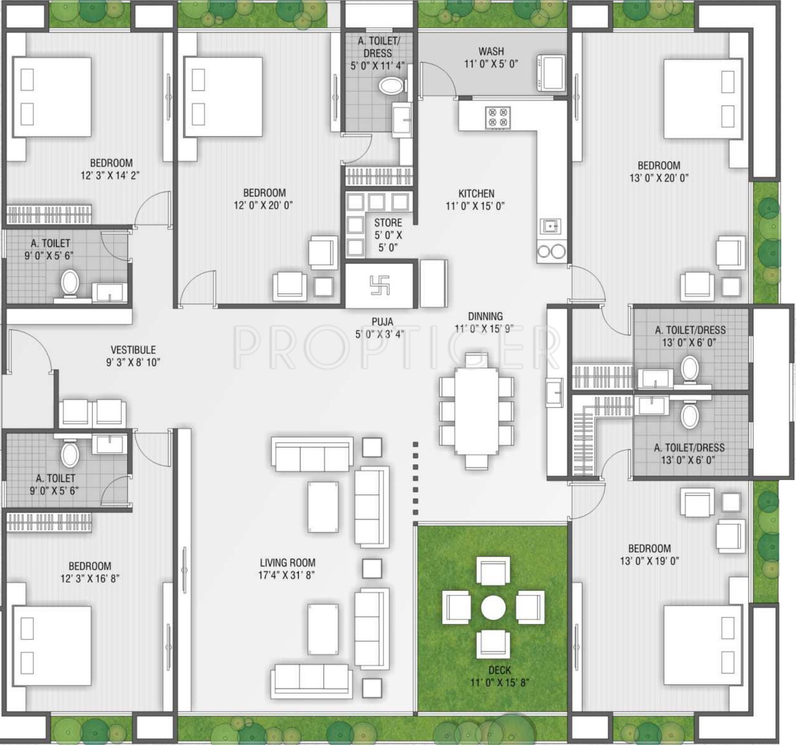 Western the laurels in vesu surat price location map The laurels floor plan