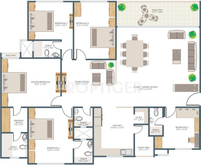 2 5 bhk floor plan meze blog for 12th floor apartments odessa