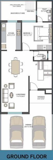 Aarcity Star Villas (4BHK+5T (2,250 sq ft)   Servant Room 2250 sq ft)