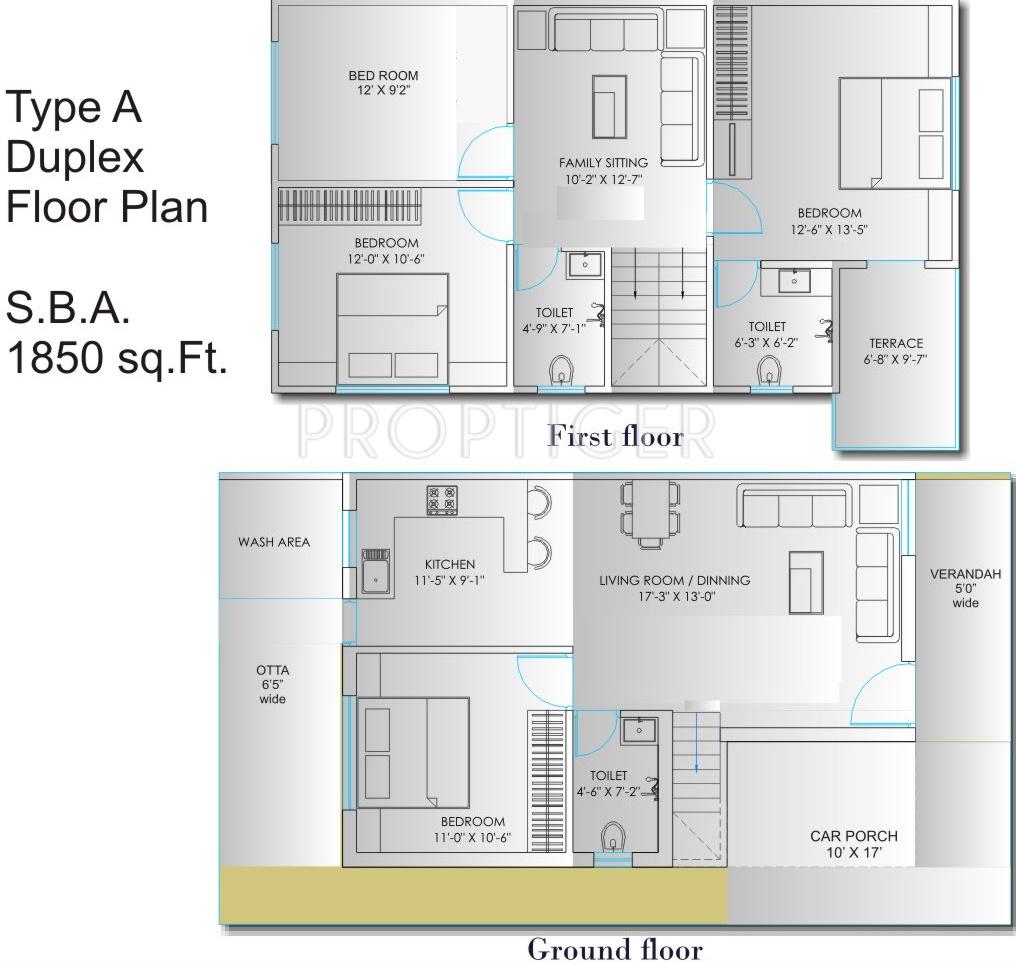 1850 sq ft 4 bhk 3t villa for sale in avaneesh shree kunj