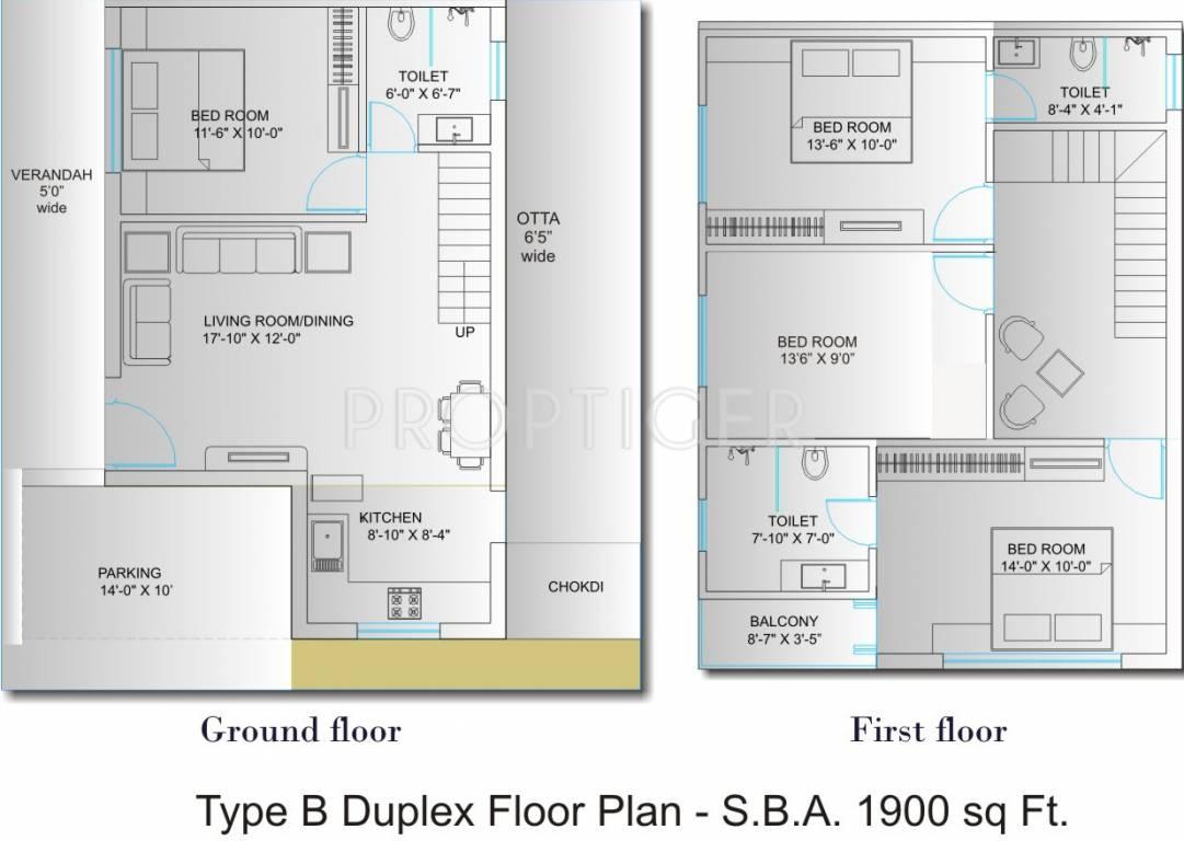 1900 sq ft 4 bhk 3t villa for sale in avaneesh shree kunj for 1900 sq ft