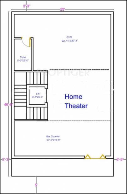 ASR Projects Pearls (3BHK+4T (3,600 sq ft) + Servant Room 3600 sq ft)