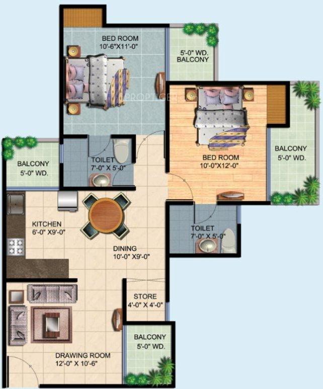 Ajnara homes 121 construction status report