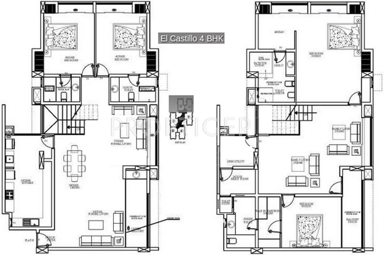 Mather El Castillo in Elamkulam, Kochi - Price, Location Map, Floor ...
