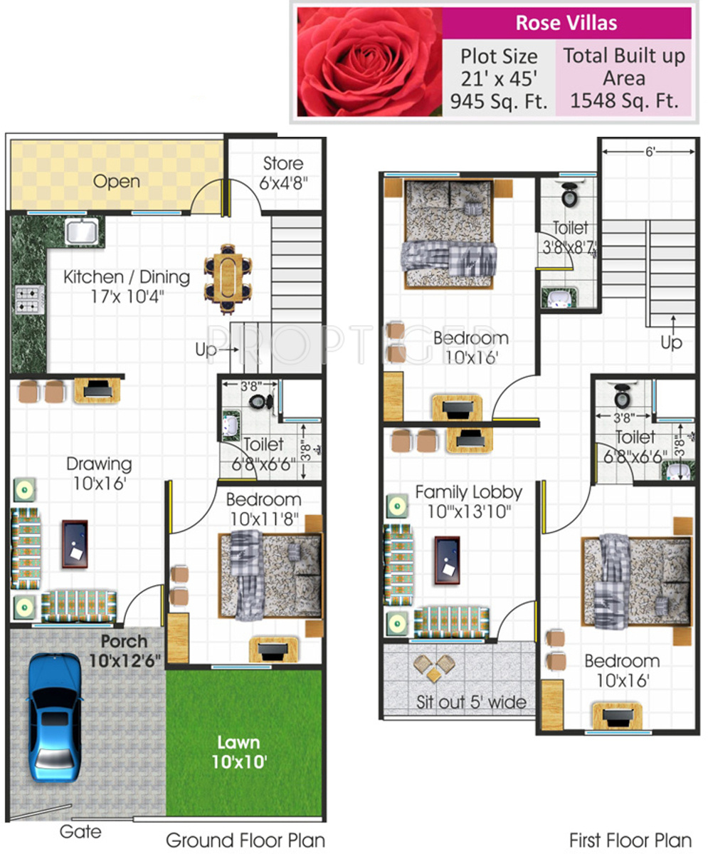 Bhojpal shri radha krishna residency in ratanpur bhopal for X2 residency floor plan