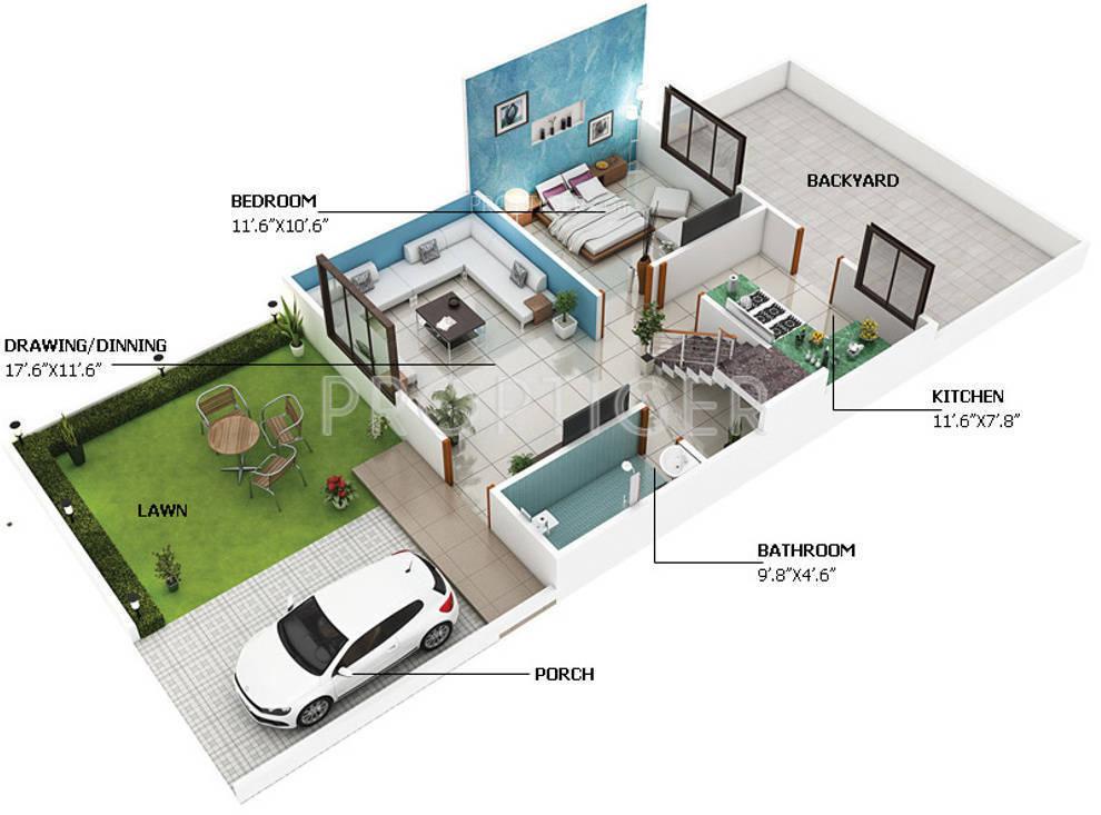 Small Beach House Design