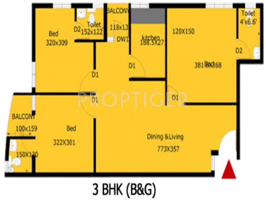 Penta smart homes in vellanikkara thrissur price for Smart home floor plans
