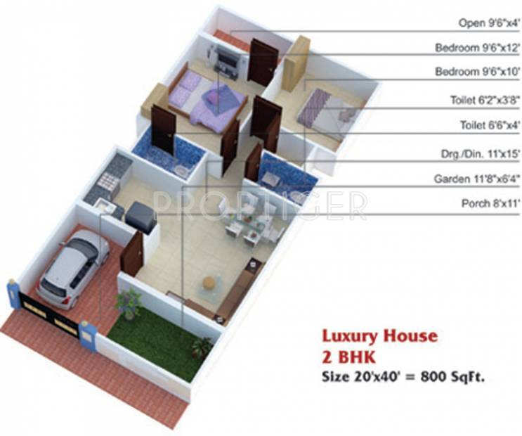 800 Sq Ft 2 Bhk Floor Plan Image Shantinath Builders And