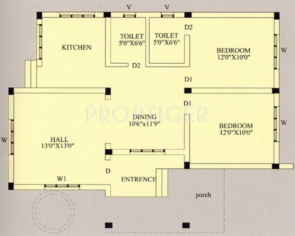 1000 sq ft 2 bhk 2t villa for sale in clavier babbukatte for 1000 sq ft 2bhk house plans