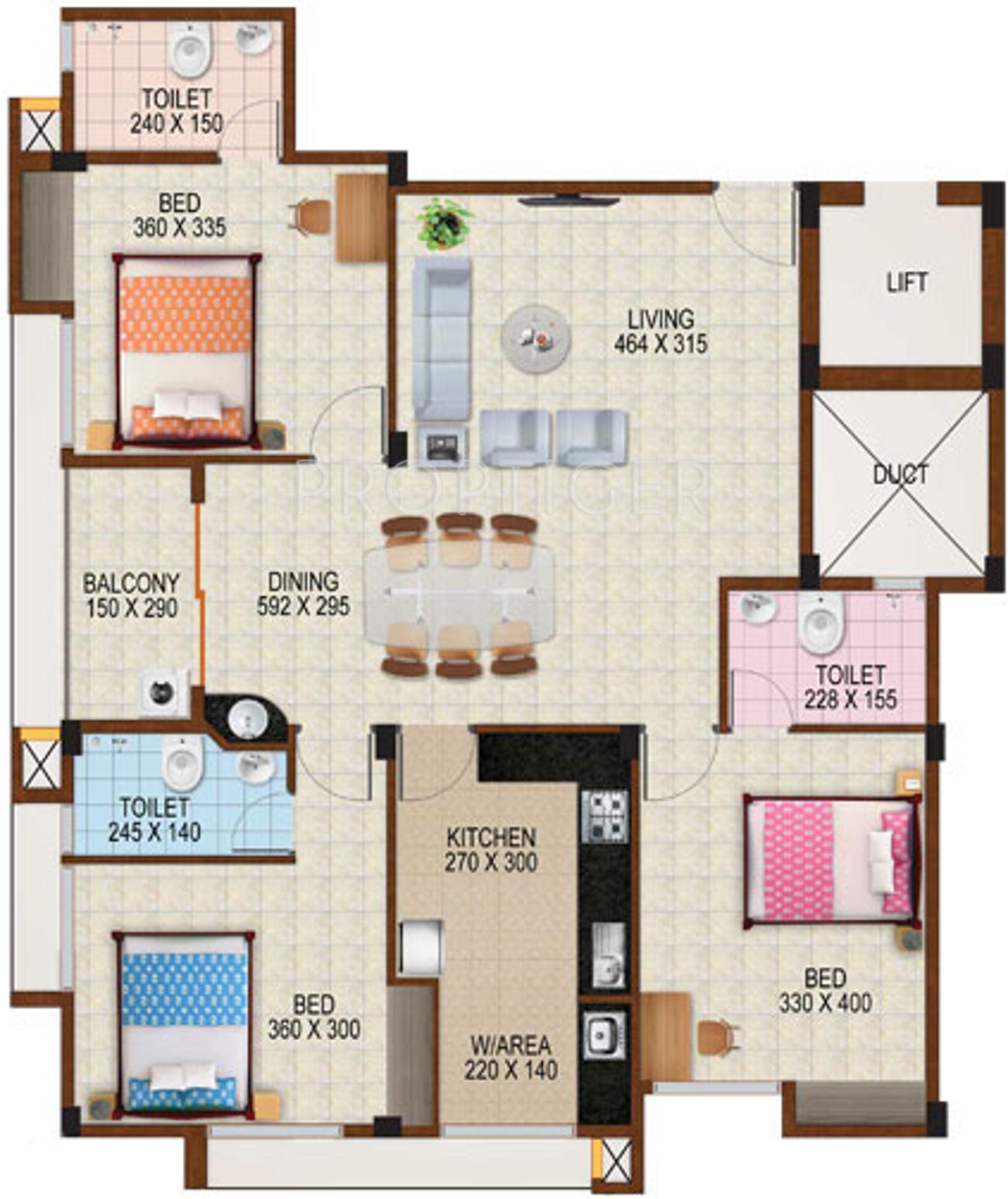 Tbpl swetha residency block ii in kottappuram thrissur for X2 residency floor plan