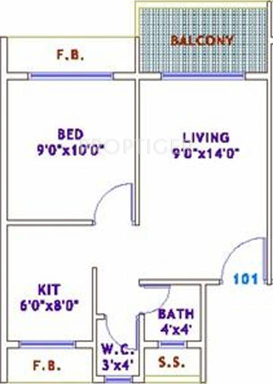 640 sq ft 1 bhk 1t apartment for sale in sarang group for 640 sq ft