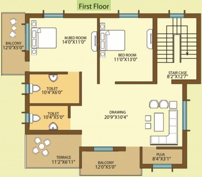 Mx Cloud City (4BHK+4T (2,200 sq ft) + Pooja Room 2200 sq ft)