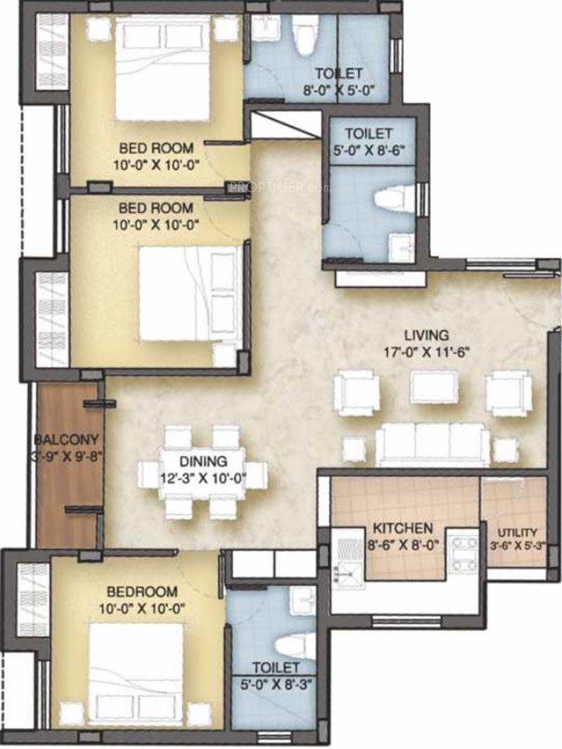 Vnr milford in anna nagar chennai price location map for Milford flooring