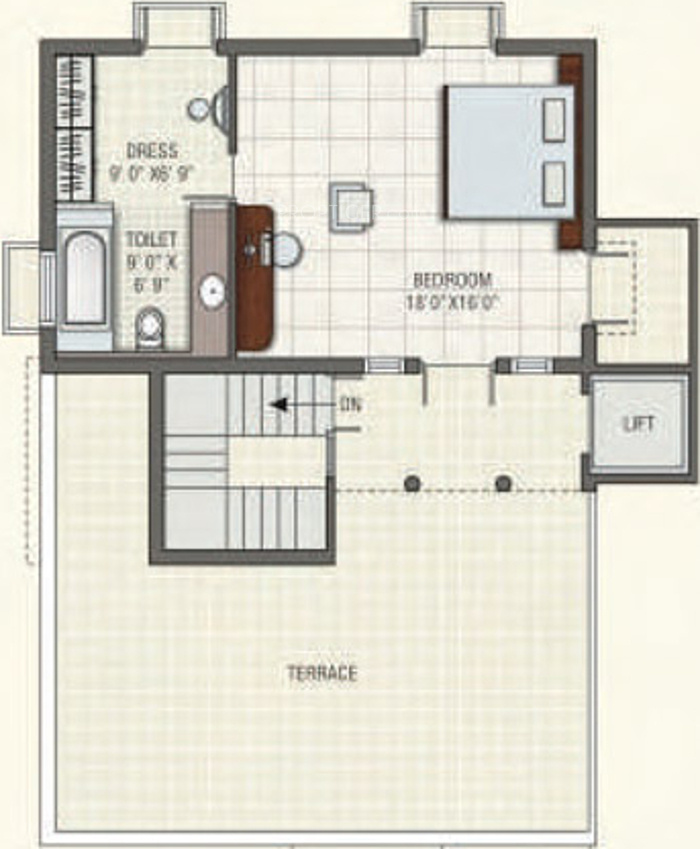 A shridhar venetian villas in thaltej ahmedabad price for Venetian floor plan