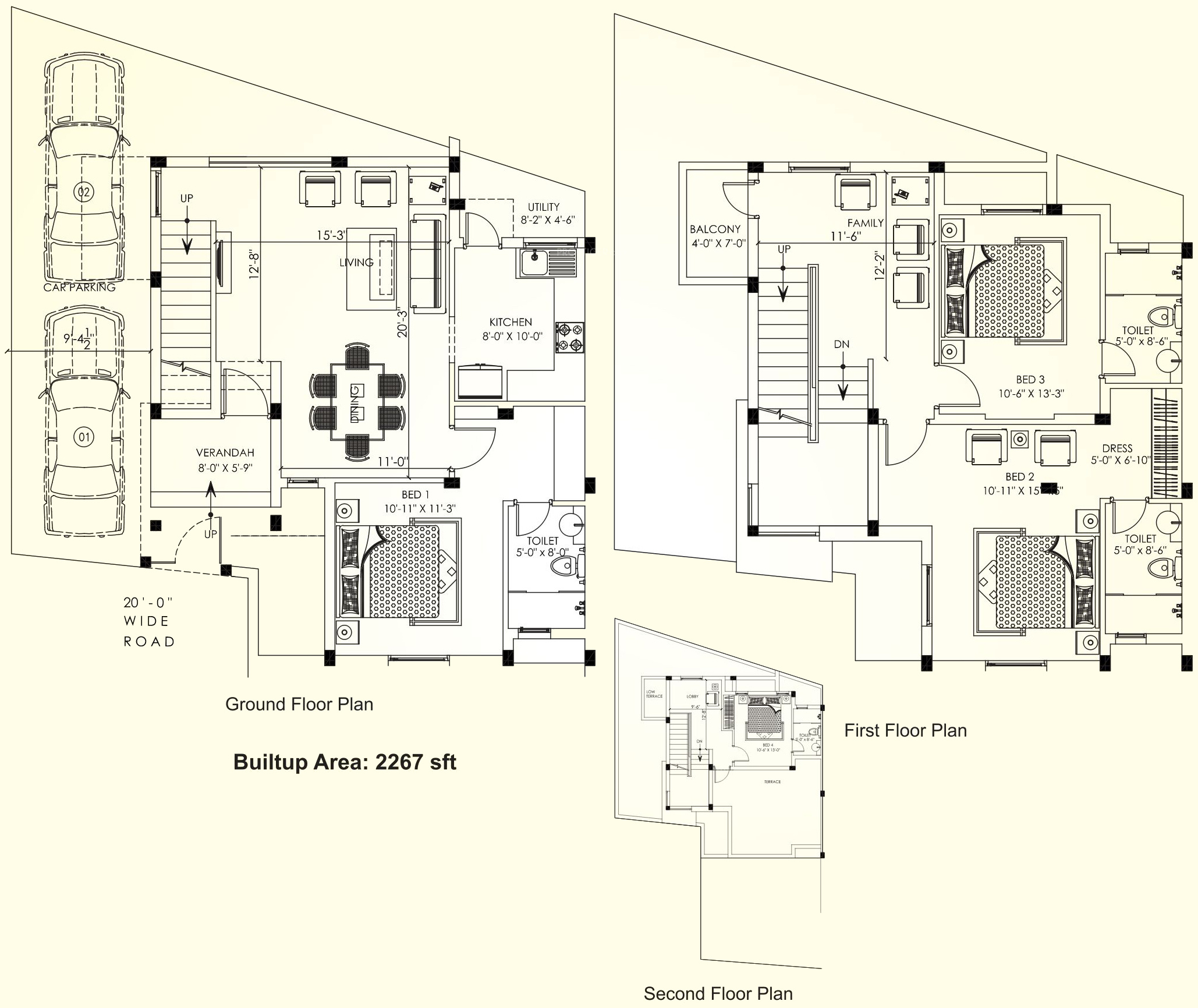 2267 Sq Ft 4 Bhk 4t Villa For Sale In Casagrand Builder