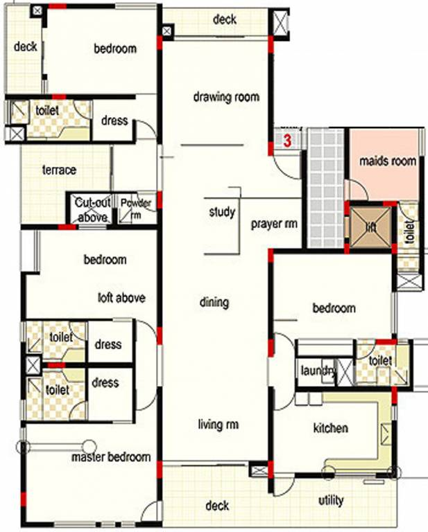 4000 sq ft 4 bhk 4t apartment for sale in kavuri hills for 4000 square feet dimensions