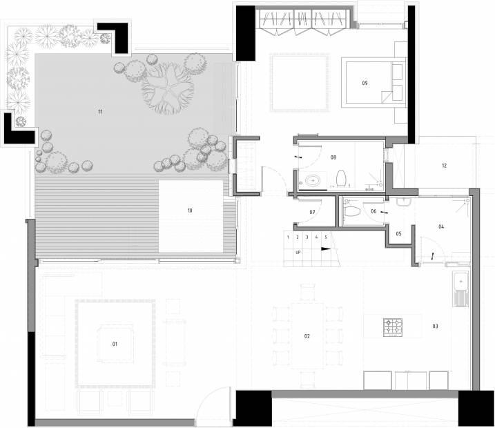 Total Environment The Magic Faraway Tree (3BHK+4T (4,374 sq ft) + Servant Room 4374 sq ft)