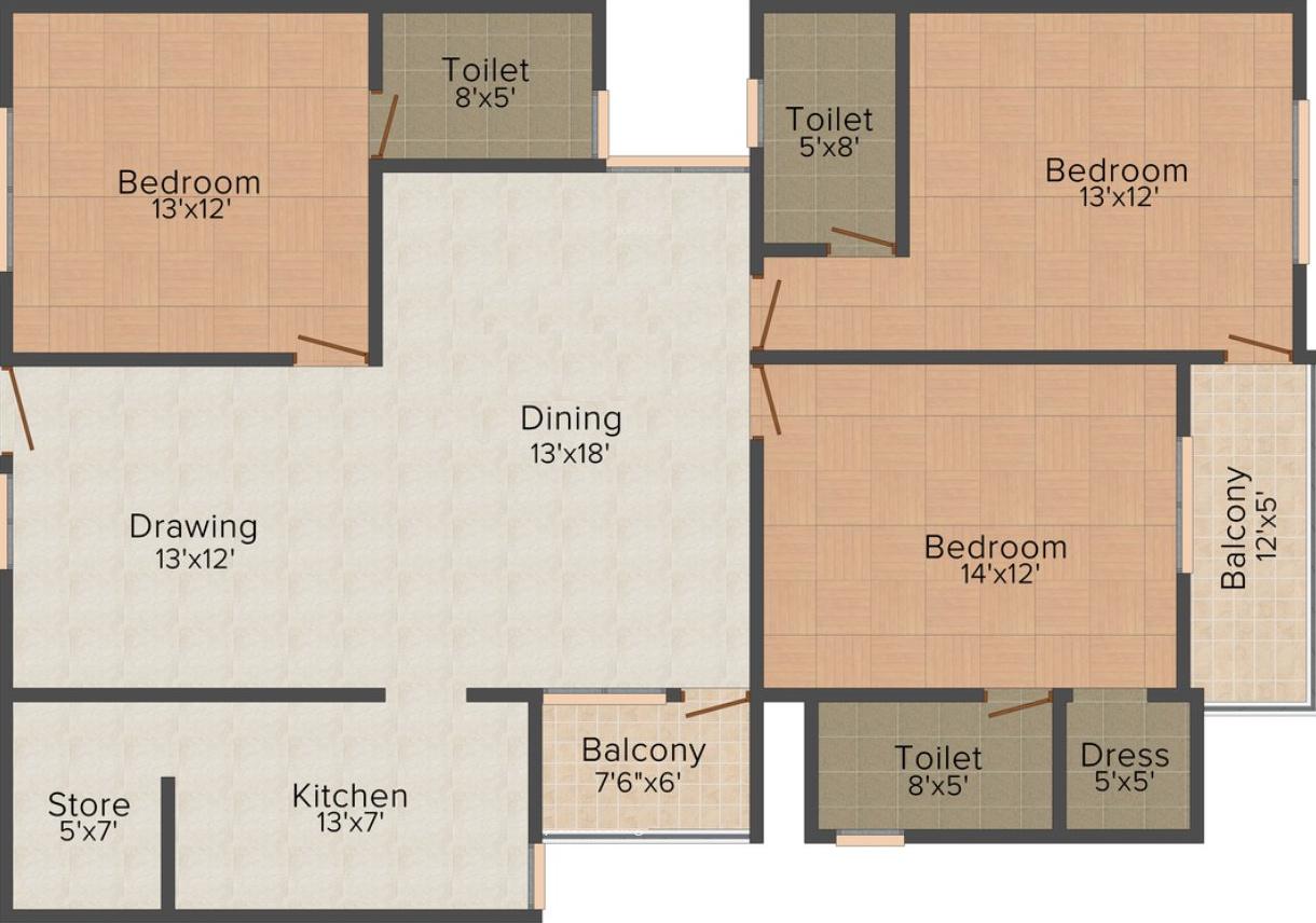 Balaji residency in hazratganj lucknow price location for X2 residency floor plan